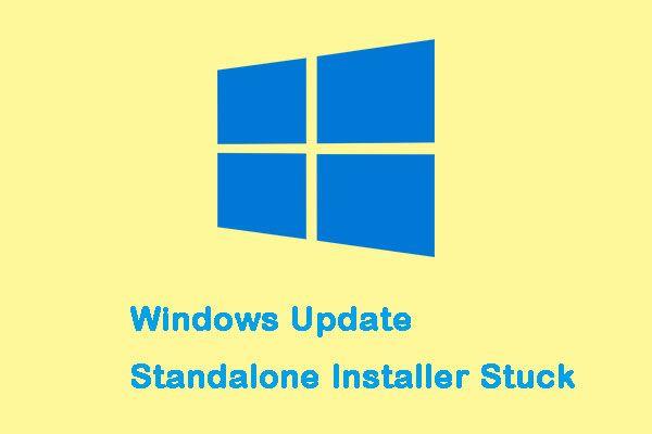 Windows Update Tek Başına Yükleyicide Sorun Nasıl Giderilir [MiniTool İpuçları]