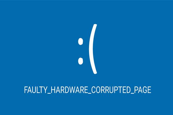 Seis formas de solucionar el error de página dañada por hardware defectuoso [Consejos de MiniTool]