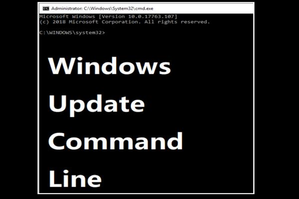 Kaks tõhusat viisi Windowsi värskenduste tegemiseks käsurealt [MiniTooli näpunäited]