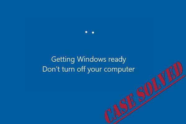 7 rješenja za rješavanje problema zaglavljivanja sustava Windows u sustavu Windows 10 [MiniTool Savjeti]