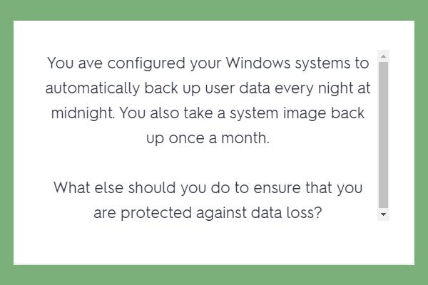 Configurar sistemas Windows para realizar copias de seguridad automáticas de los datos del usuario [Sugerencias de MiniTool]