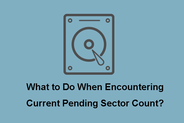 Mida teha praeguse ootel oleva sektori loenduri leidmisel? [MiniTooli näpunäited]