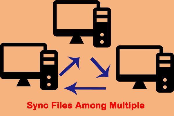 5 soluciones útiles para sincronizar archivos entre varios equipos [Consejos de MiniTool]