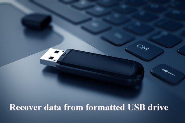 Kako oporaviti podatke s formatiranog USB-a (korak po korak) [MiniTool Savjeti]