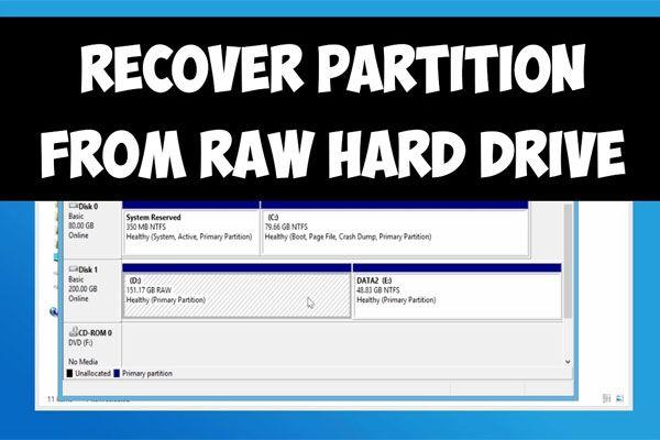 Viis parimat viisi RAW-i NTFS-i teisendamiseks Windows 7/8/10 hõlpsalt [MiniTooli näpunäited]