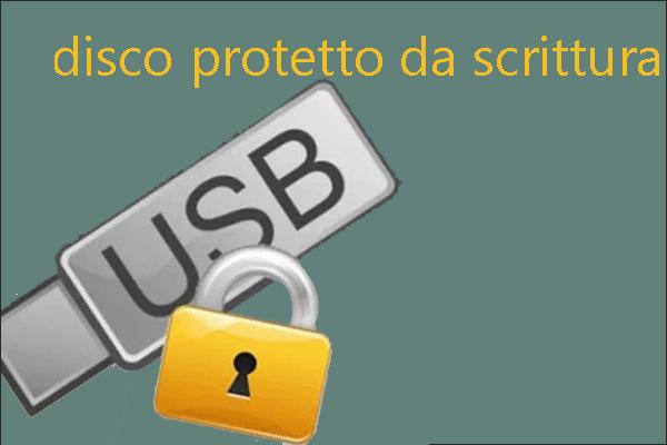 Disk yazma korumalı mı? Windows 7/8 / 10'da USB'nin korumasını kaldırın! [MiniTool İpuçları]