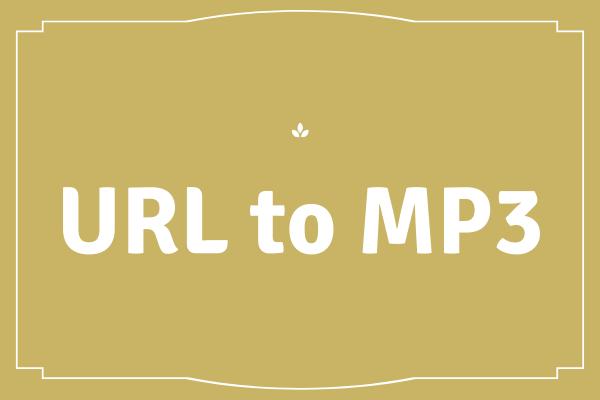 Viis parimat URL-i MP3-teisendajatesse - URL-i kiiresti teisendamine MP3-ks [MiniTooli näpunäited]