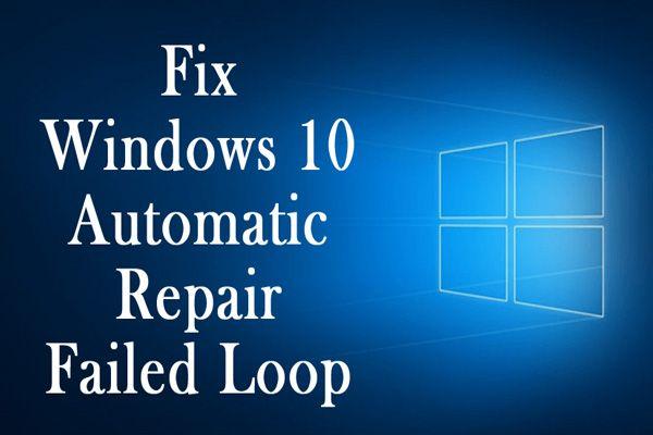 """A """"Windows nem működő automatikus javítás"""" [SOLVED] [MiniTool tippek] javítása"""