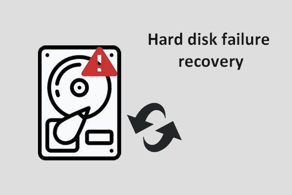 [Correzione] Ripristino da errori del disco rigido - Come recuperare i dati [Suggerimenti per MiniTool]