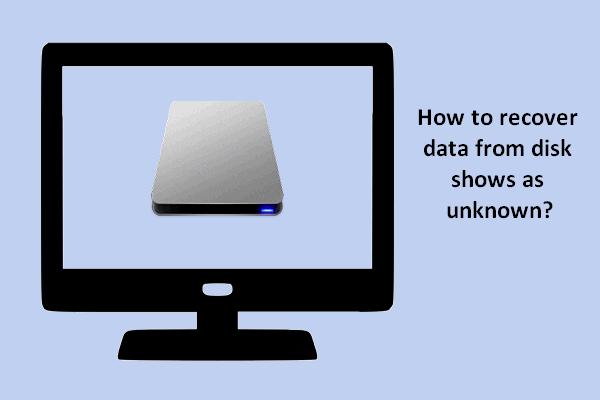 Az adatok ismeretlenül történő helyreállítása ismeretlenül, károsodás nélkül [MiniTool Tips]
