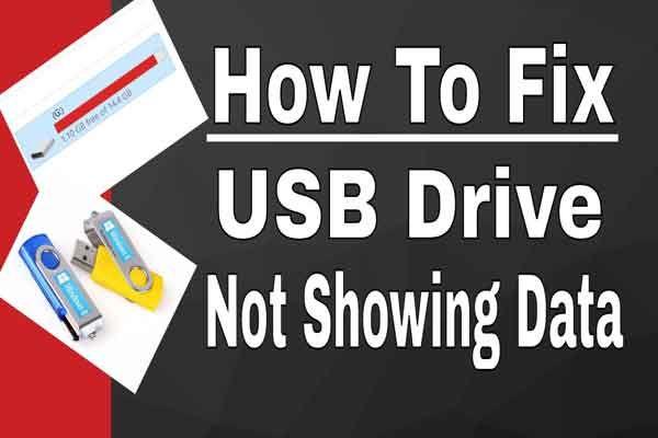 [SOLUCIONADO] La unidad USB no muestra archivos y carpetas + 5 métodos [Sugerencias de MiniTool]