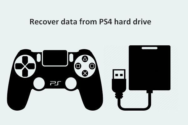 Come recuperare i dati dal disco rigido PS4 in modi diversi [Suggerimenti per MiniTool]