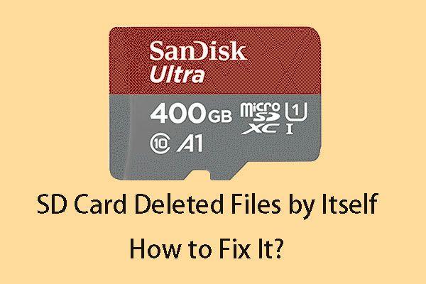 [RJEŠENO] SD kartica samostalno briše datoteke? Evo rješenja! [Savjeti za mini alat]