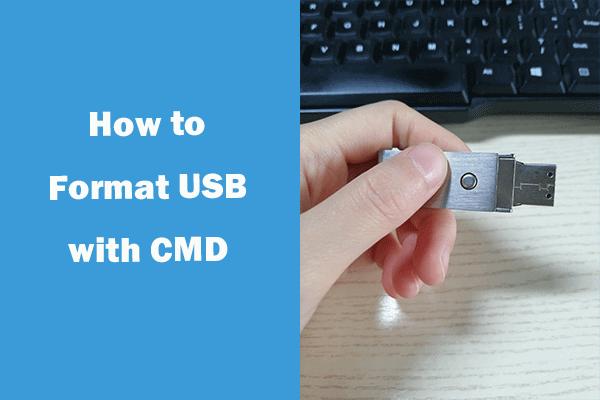 Como formatar USB usando CMD (prompt de comando) Windows 10 [MiniTool Tips]