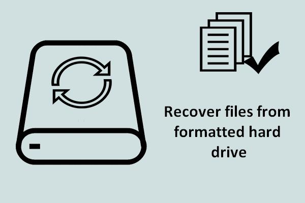 Cómo recuperar archivos de un disco duro formateado (2020) - Guía [Consejos de MiniTool]