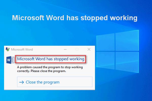[2020 Update] Korrekturen für Microsoft Word funktionieren auf dem PC nicht mehr [MiniTool-Tipps]