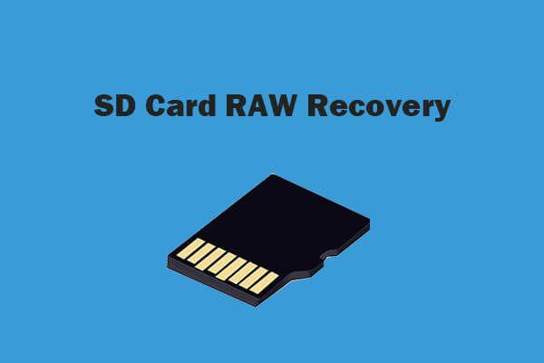 Ako efektívne vykonám obnovu SD karty RAW [Tipy MiniTool]