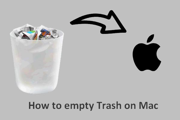 Jak vyprázdnit koš na Macu a odstranit problémy s košem Mac se nevyprázdní [Tipy MiniTool]