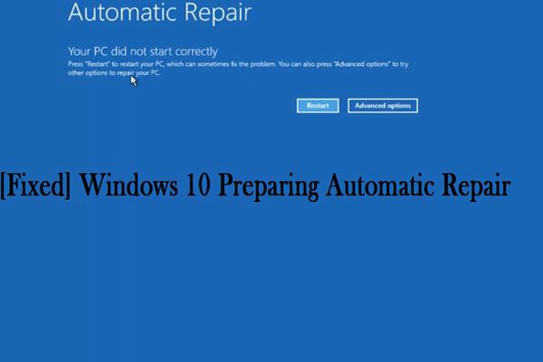 [ASK] Cara menyelesaikan Gelung Pembaikan Automatik Windows 10 [Petua MiniTool]