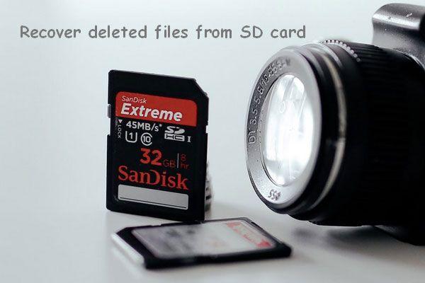 Hogyan lehet helyreállítani a törölt fájlokat az SD-kártyáról egyszerű lépésekkel [MiniTool tippek]