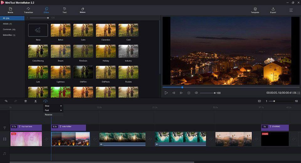 Video Nasıl Tersine Çevrilir | MiniTool MovieMaker Eğitimi [Yardım]