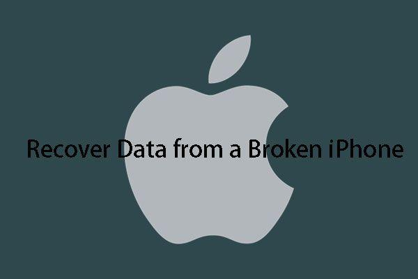 [ÇÖZÜLDÜ] Bozuk iPhone'daki Veriler Nasıl Kolayca Kurtarılır [MiniTool İpuçları]