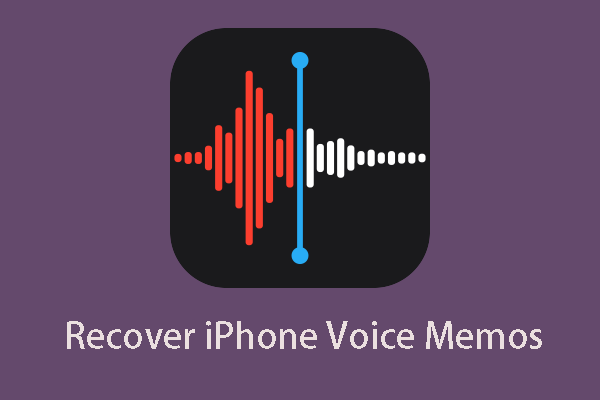 Cómo recuperar notas de voz borradas iPhone »Wiki Ùtil Fácil y rápido [Consejos de MiniTool]