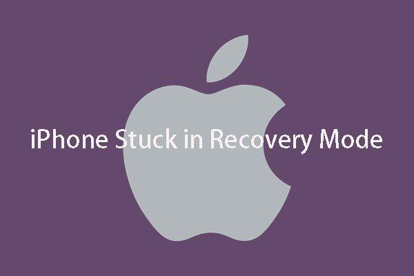 iPhone Kurtarma Modunda mı Sıkışmış? MiniTool Verilerinizi Kurtarabilir [MiniTool İpuçları]