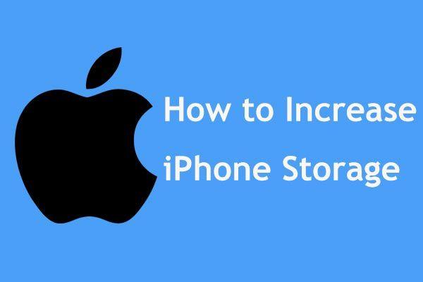 Siin on 8 viisi, mis suurendavad iPhone'i salvestusruumi tõhusalt [MiniTooli näpunäited]
