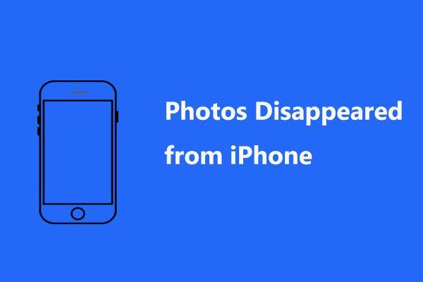 PARANDATUD: iPhone'ist kadunud fotod äkki? (Parim lahendus) [MiniTooli näpunäited]