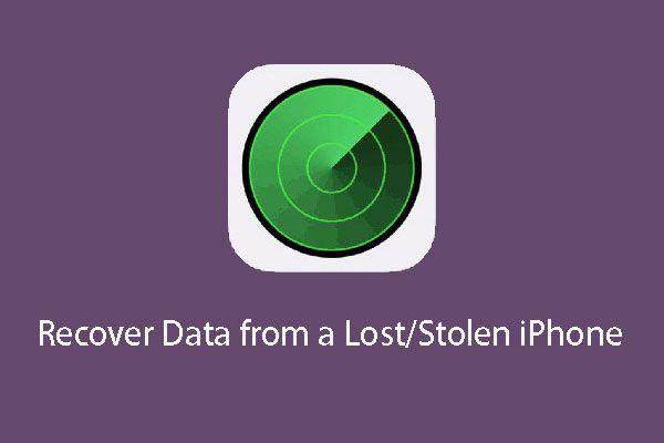 Lehetséges adatok visszaszerzése az elveszett / ellopott iPhone-ból? Igen! [MiniTool tippek]
