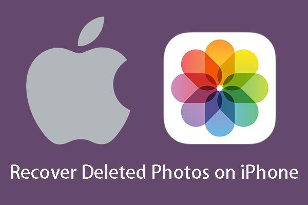[OPRAVENO] Jak obnovit smazané fotografie na iPhone | Nejlepší řešení [Tipy MiniTool]
