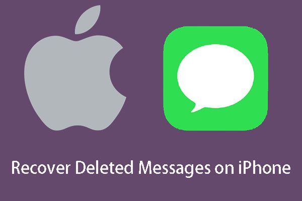 ¿Puedo recuperar mensajes eliminados de mi iPhone? Mejores soluciones! [Sugerencias de MiniTool]