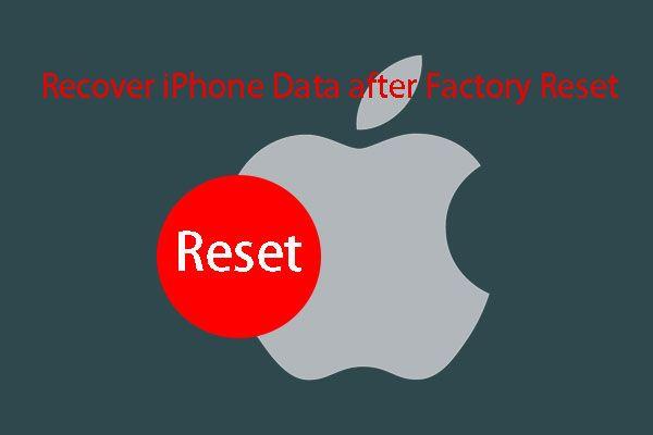 3 Cara Memulihkan Data iPhone setelah Memulihkan ke Tetapan Kilang [Petua MiniTool]