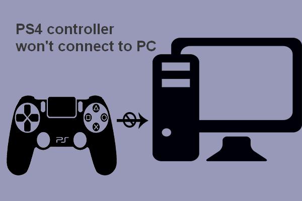 3 viisi, kuidas PS4 kontrollerit parandada, ei saa arvutiga ühendust [MiniTool News]