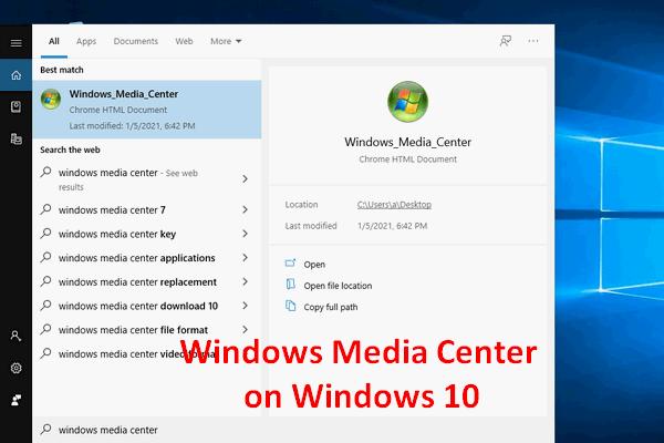 A legjobb Windows Media Center a Windows 10 rendszeren - nézze meg [MiniTool News]