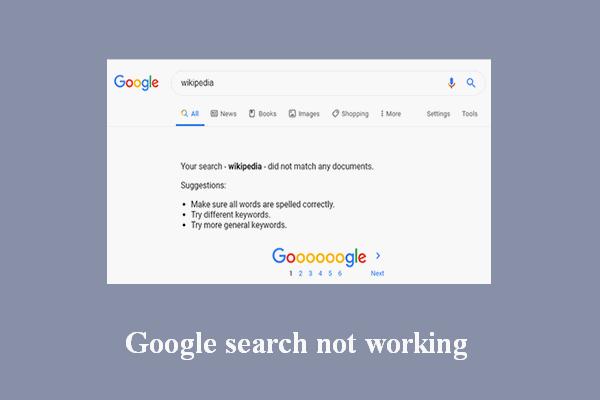 Kako popraviti da Google pretraživanje ne radi na Androidu / Chromeu [MiniTool News]