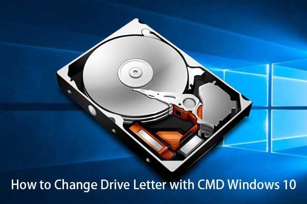 Cara Menukar Surat Pemacu dengan CMD Windows 10 [Berita MiniTool]