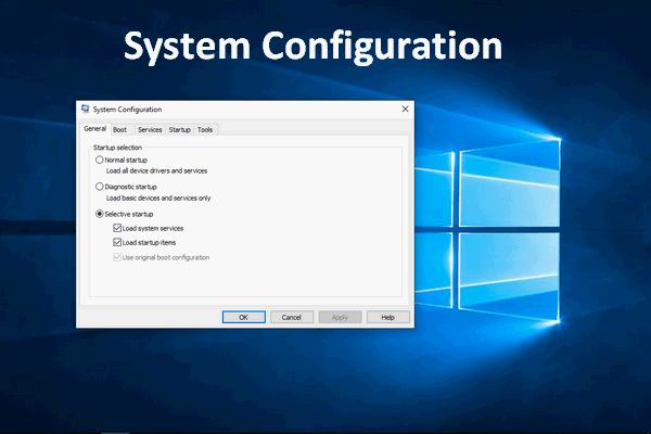 Cómo optimizar la configuración del sistema en Windows 10 [MiniTool News]