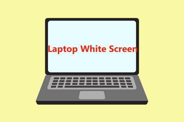 Kuidas parandada sülearvuti valget ekraani? Neli lihtsat meetodit teile! [MiniTooli uudised]