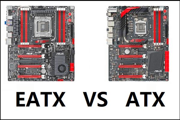 ATX VS EATX emaplaat: mis vahe on nende vahel? [MiniTooli uudised]