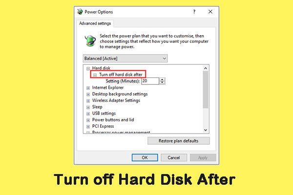 Como evitar que o disco rígido externo entre em suspensão no Windows 10 [Notícias MiniTool]