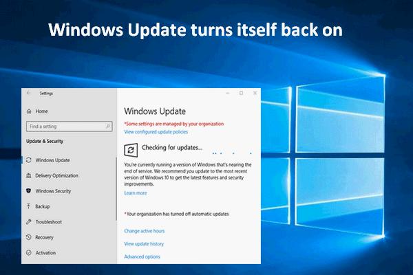 Windows Update lülitab end uuesti sisse - kuidas parandada [MiniTool News]