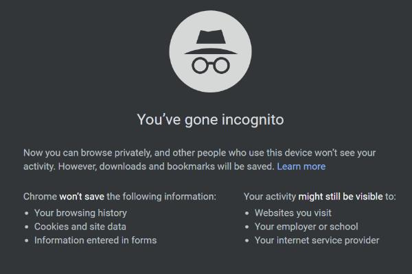 Cómo activar / desactivar el modo incógnito del navegador Chrome / Firefox [Noticias de MiniTool]