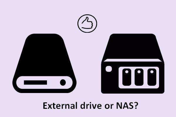 Vanjski pogon ili NAS, što je bolje za vas [MiniTool News]