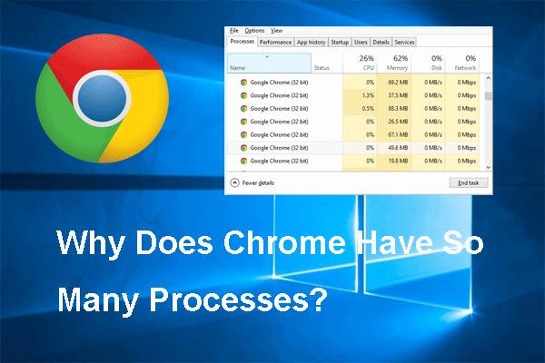 Megoldva - Miért van olyan sok folyamata a Chrome-nak a Feladatkezelőben [MiniTool News]