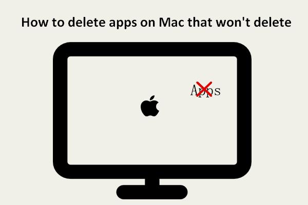 Cách xóa ứng dụng trên máy Mac sẽ không xóa: 4 cách [Tin tức MiniTool]