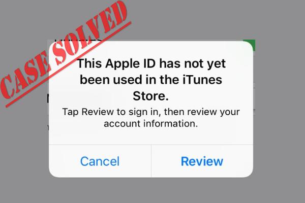 Opravené - toto Apple ID sa ešte nepoužilo v obchode iTunes [MiniTool News]