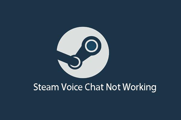 5 วิธีแก้ปัญหาการแชทด้วยเสียงบน Steam ไม่ทำงาน [อัปเดต 2021] [MiniTool News]