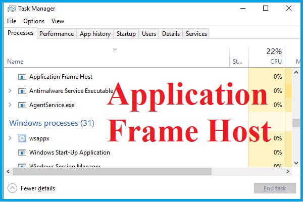 Kas ir lietojumprogrammu rāmja resursdators Windows datorā? [MiniTool ziņas]